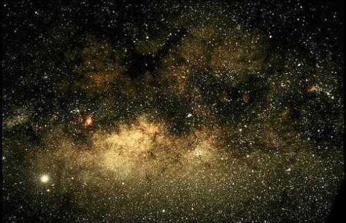 участок Млечного Пути в созвездии Стрельца